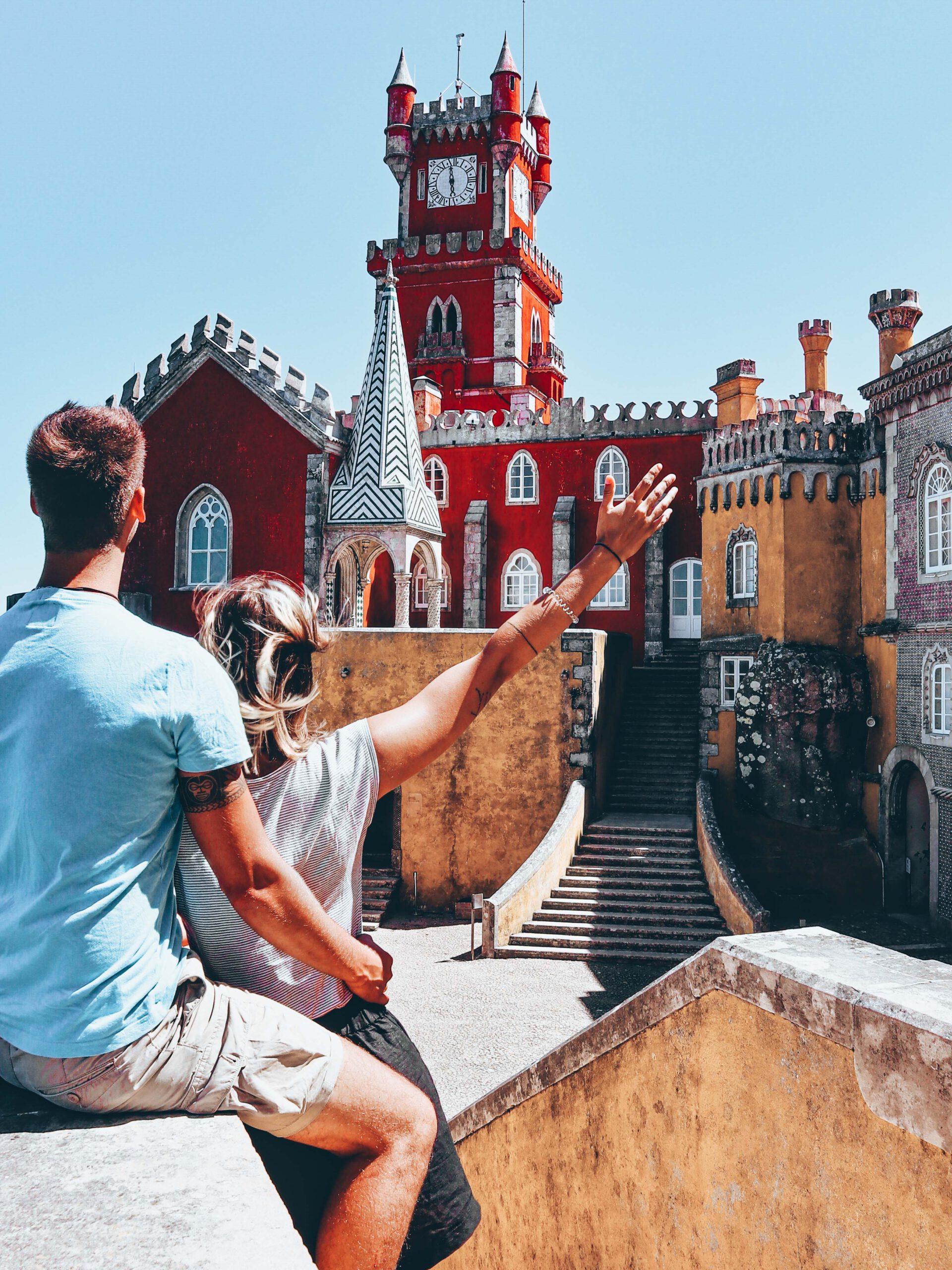 Sintra Portugal - Palacio Nacional Da Pena